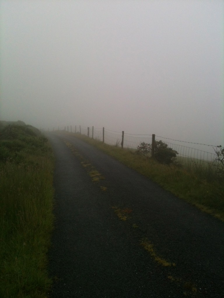 Misty day Ireland