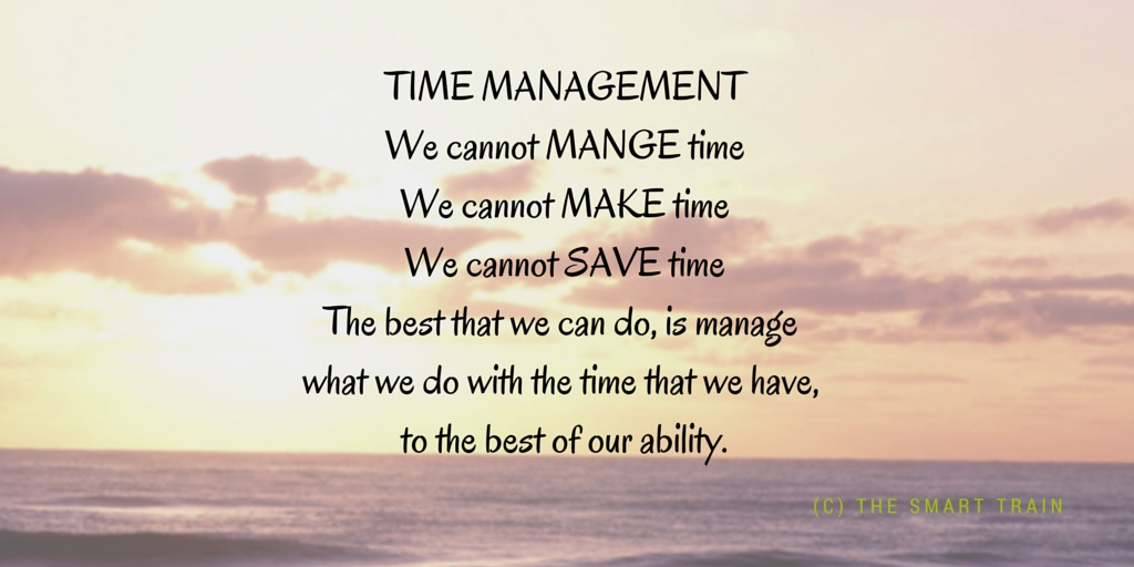 TIME MANAGEMENT Myth